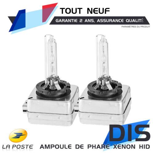 HID Xenon Ampoules De Remplacement h4-3 6000k Paire Neuf
