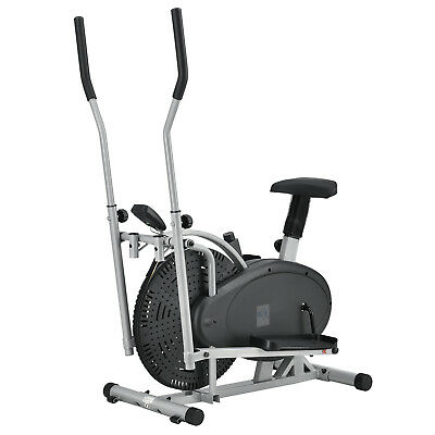 Crosstrainer Heimtrainer Ergometer 2in1 Cardio Fitness Ellipsentrainer ArtSport