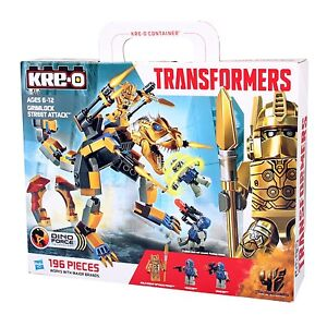 Hasbro KRE-O A6955 TRANSFORMERS Dino Force GRIMLOCK Street Attack Bausteine-Set