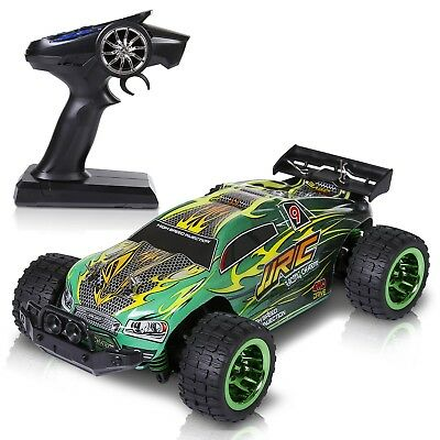 (RC High Speed Remote Control Off-Road Racing Cars Fun Toys Gifts For Kids Green)