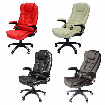 - Home Office Computer Desk Massage Chair Executive Ergonomic Heated Vibrating