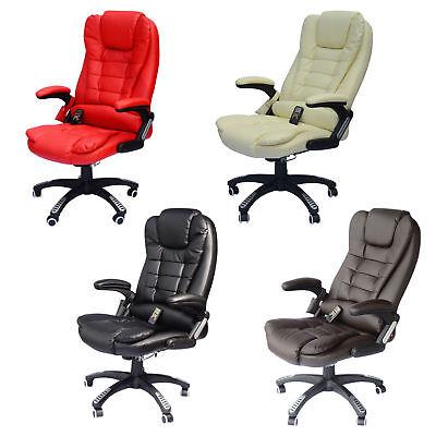 Home Office Computer Desk Massage Chair Executive Ergonomic