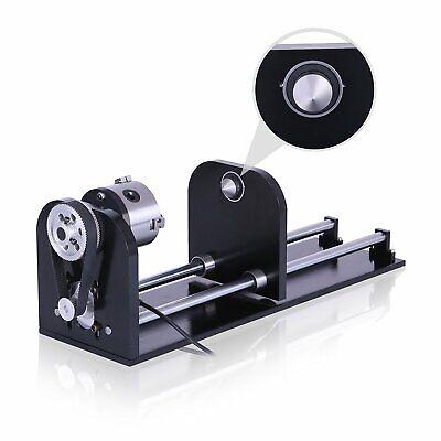 Rotary Axis W 3-jaw Chuck For 50w60w80w100w130w Co2 Laser Engraver Us Stock