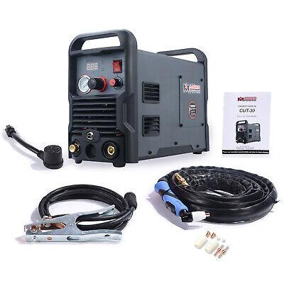 Cut-30 30-amp Plasma Cutter 110230v Dual Voltage Cutting Machine New