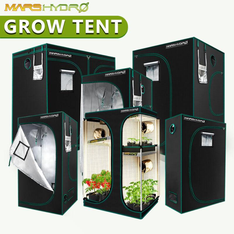 Mars Hydro Indoor Grow Tent 1680D Plants Mylar Room Reflective Home Box Window