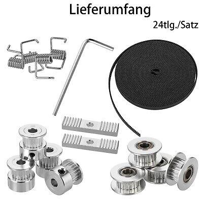 GT2 16T 5mm Bohrung Aluminum Zahnrad Pulley 5m Zahnriemen Für 3D Drucker Neu DE online kaufen