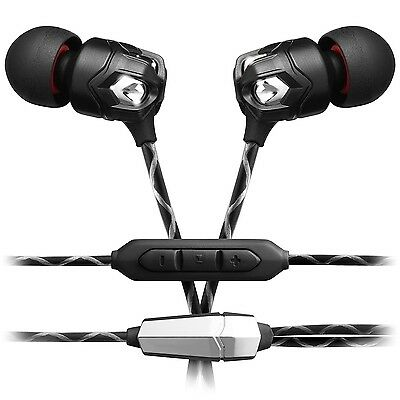 V-MODA ZN in-ear-hörer con 3-knopf-mikrofonkabel Nero