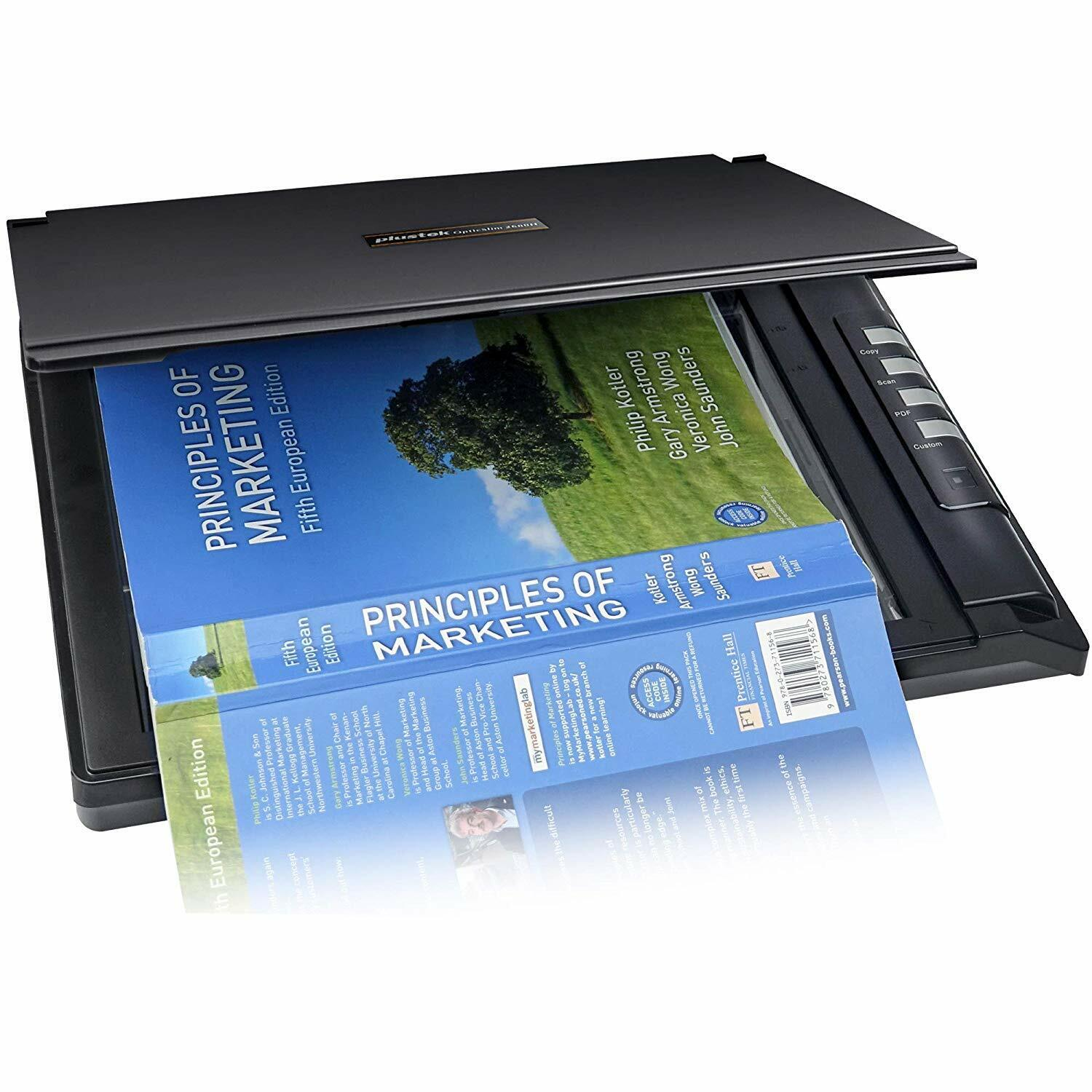 Plustek OpticSilm 2680h - High Speed Flatbed Scanner, 3sec F