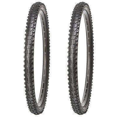 2 x Kujo Mountainbike Reifen MTB Fahrradreifen 26 Zoll 26 x 1.95 Etrto 53-559