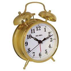 WESTCLOX(R) 70010G Westclox(R) Metal Twin Bell Alarm Clock