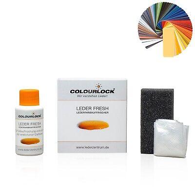Colourlock ~ Leder Fresh für Mercedes Schwarz F034 30ml mit Schwamm