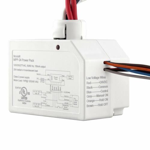 ENERLITES MPP-24 Low Voltage Occupancy Sensor Ceiling Motion Power Pack Switch