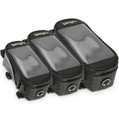 Bike Phone Holder Mobile iPhone Frame Bag Stem Mount Water Resistant Accessories