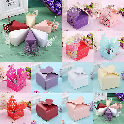 Creative Classic Butterfly Wedding Cake Candy Box Sweets Gift Favor Boxes Classic Candy Gift Box