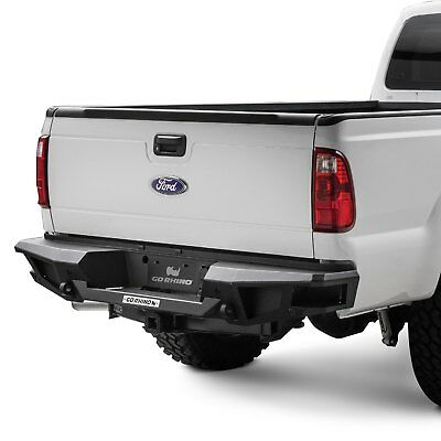 Ford F250 Replacement Bumper (For Ford F-250 Super Duty 11-16 BR20 Replacement Full Width Black Rear HD Bumper )
