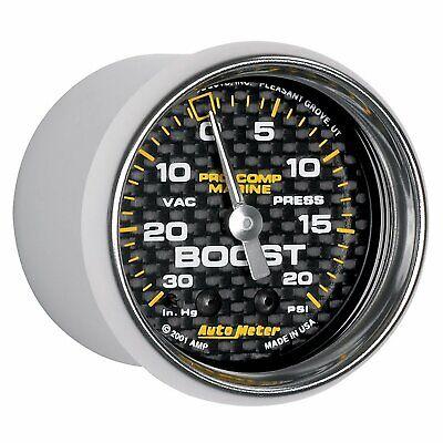 AutoMeter Auto Meter 200774-40 Gauge, Vac/Boost, 2 1/16