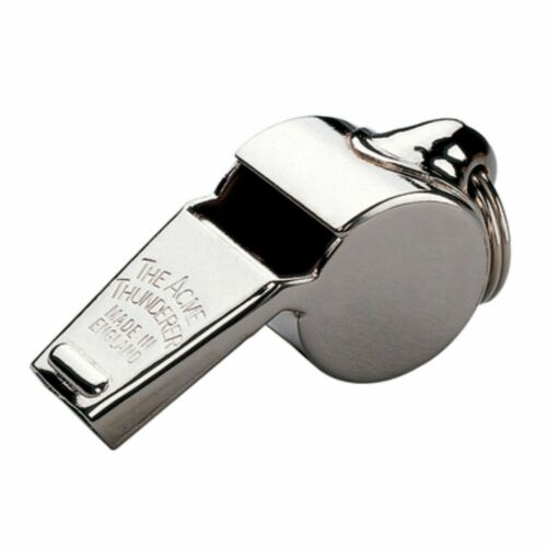 ACME Thunderer Large Official Referee 58.5 Nickel Plated Whistle
