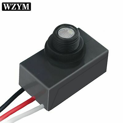 Photoelectric Photocell Dusk To Dawn Button Photo Control Eye Switch Mount 110v