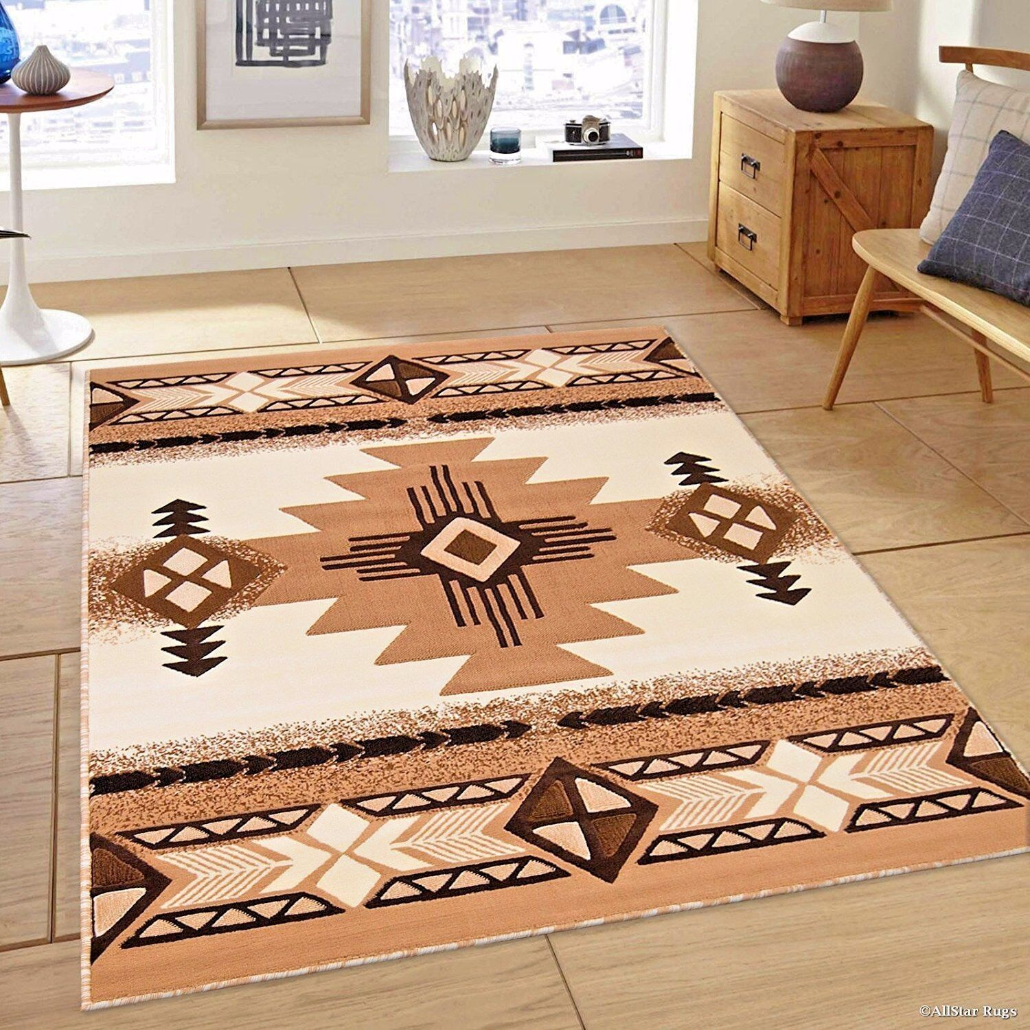 Details About Rugs Area 8x10 Rug Carpets Large Southwestern Native American New