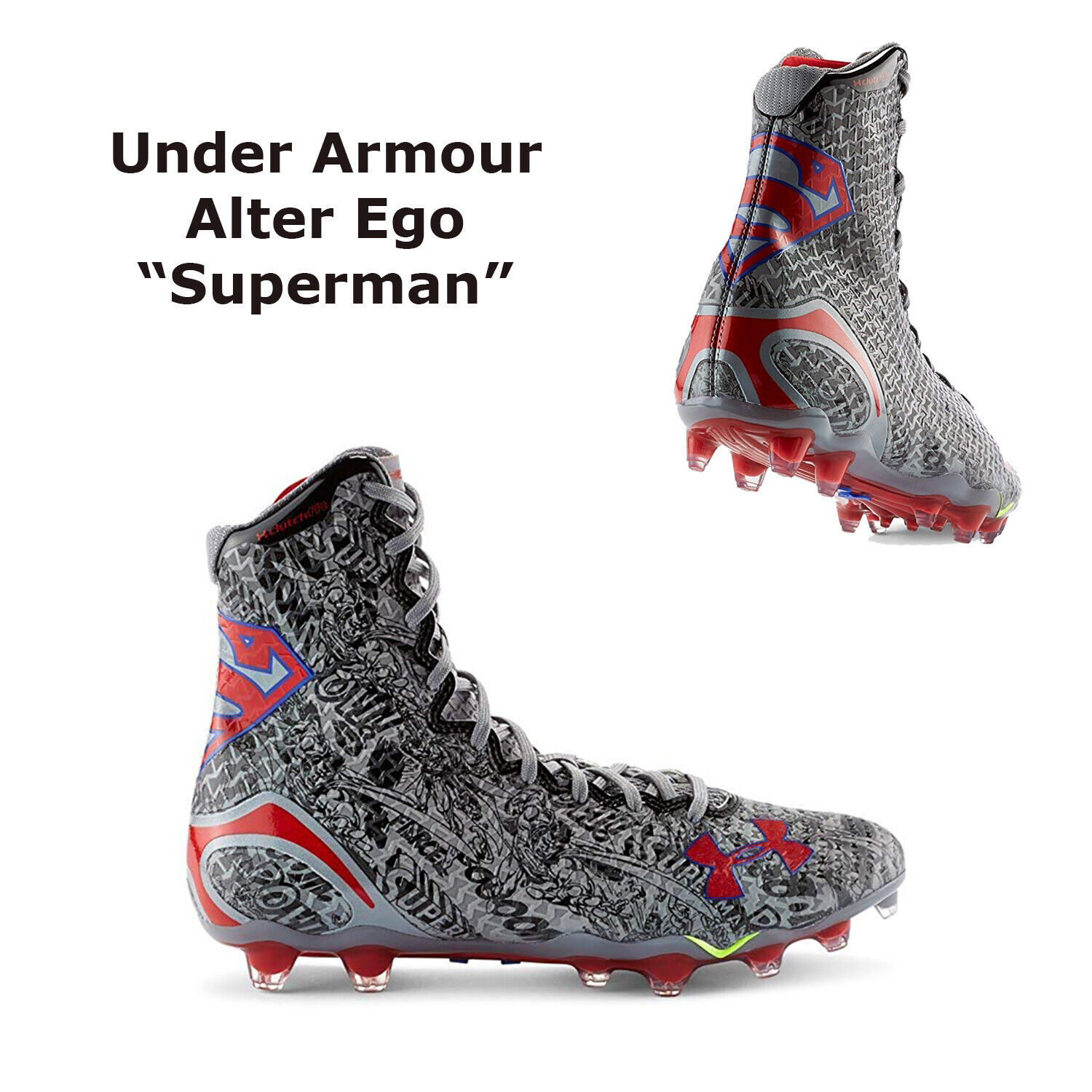Alter Ego Football Lacrosse Cleats Size