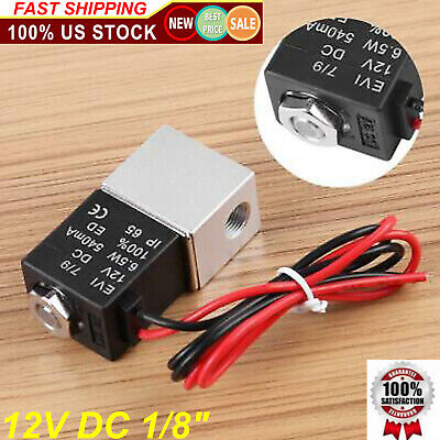Dc12v 18 Npt Normally Closed Solenoid Switch Tool For Gas Water Flow Air Valve