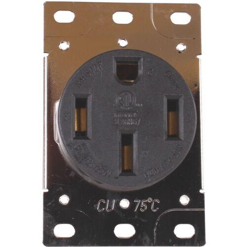 50 Amp 125/250V 14-50R Flush Mounting Wall Receptacle Range Oven EV HJP 279-S00