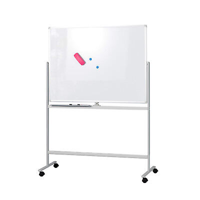 Whiteboard Stand - Mobile Whiteboard Magnetic Dry Erase Board 47