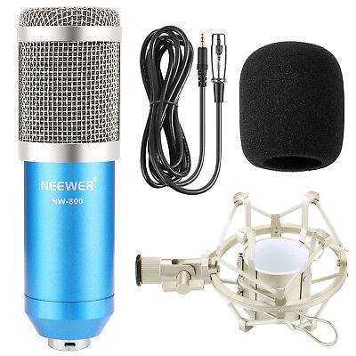 Neewer NW-800 Pro Studio Broadcasting & Recording Microphone Set w/ Shock Mount