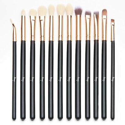 12 PCS Eye Brush Set Makeup Eyeliner Eyeshadow Brushes Profe