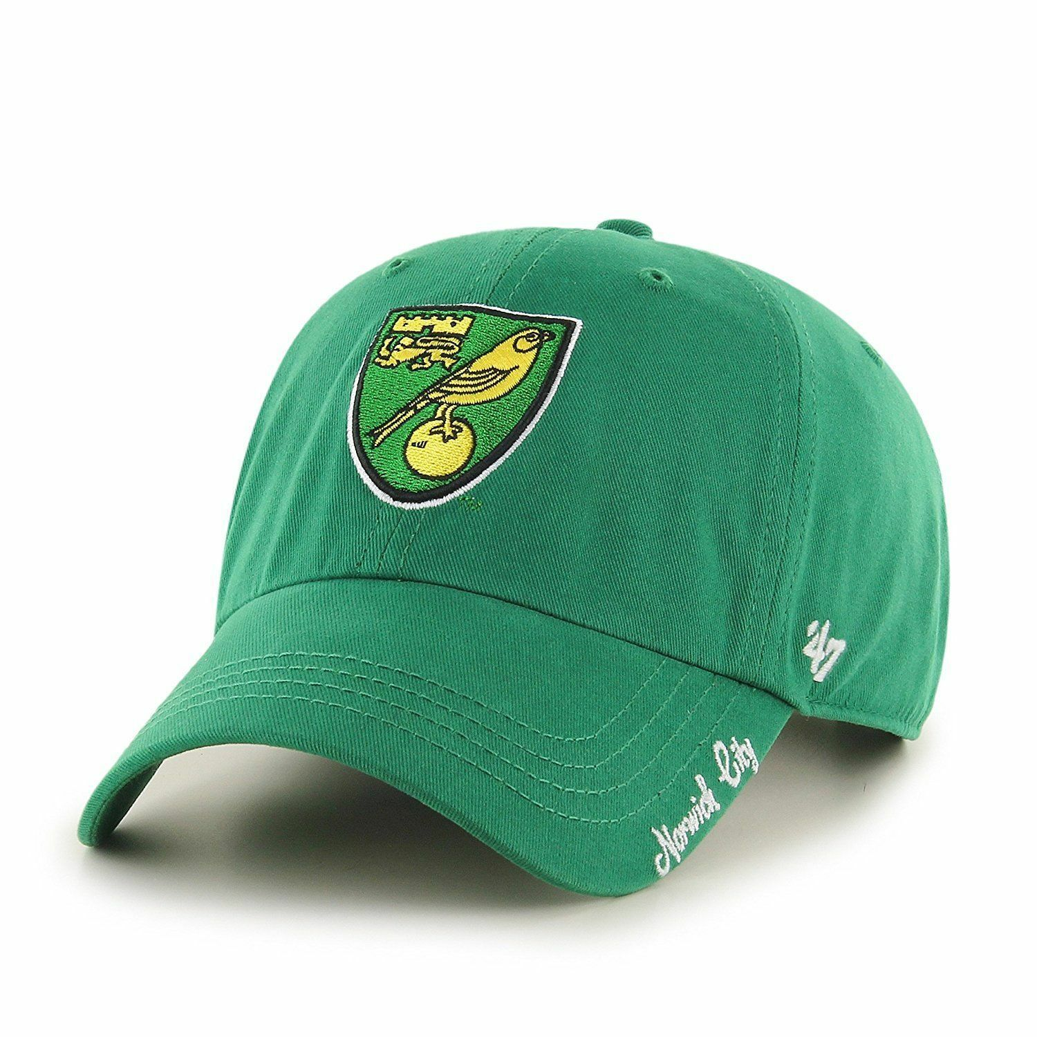47 BRAND INTERNATIONAL SOCCER NORWICH CITY WOMENS EPL MIATA CLEAN UP HAT