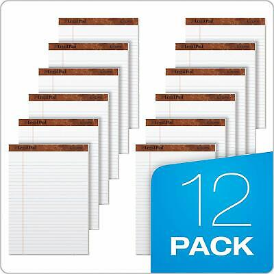 Tops The Legal Pad Writing Pads 8-12 X 11-34 Rule 50 Sheets 12 Pack...