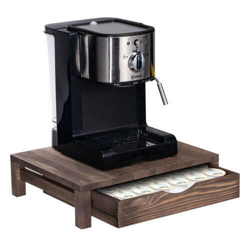 36 K Cup Holder Rack Storage fits Coffee Pod wooden rack Dra