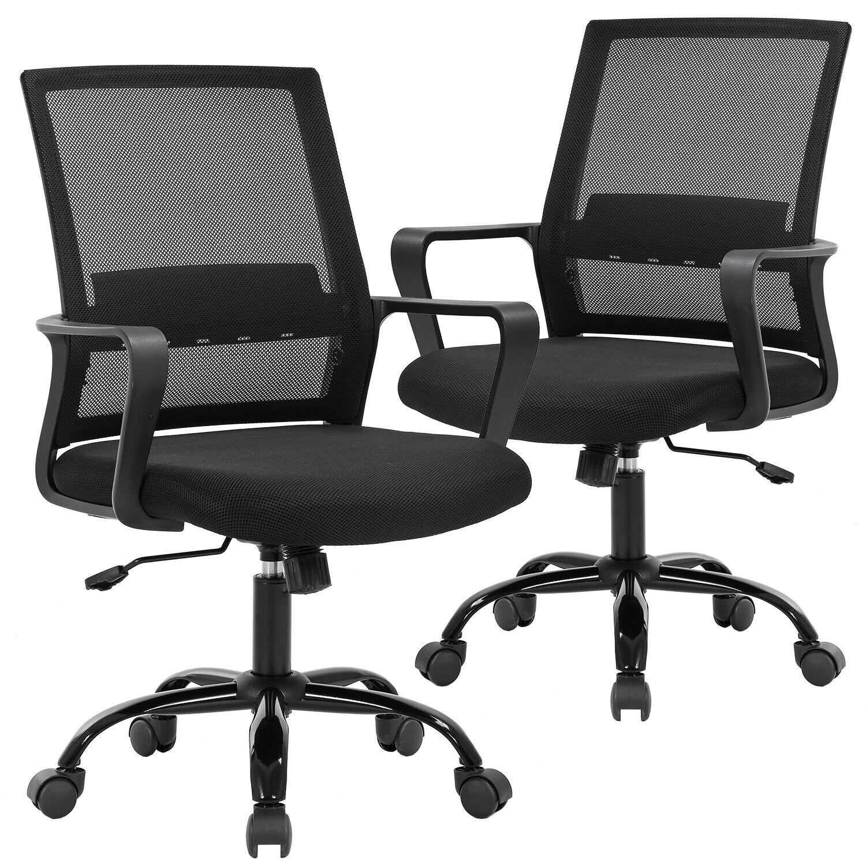 Office Chair Desk Chair Computer Chair Swivel Executive Lumb
