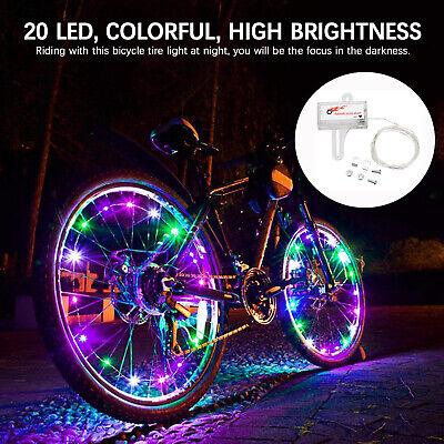 Waterproof Road Bicycle Mountain Bike LED Light Cycling Wheel Decor Lamp 2.3*1cm