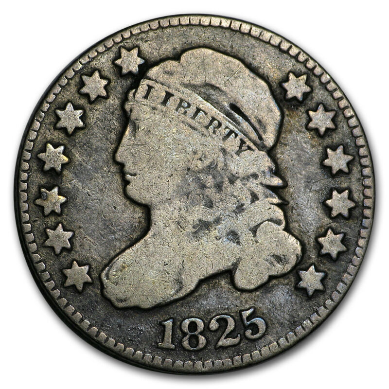 1825 Capped Bust Dime VG - SKU#175761