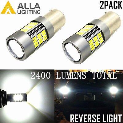 Alla Lighting 2x 1156 54-LED Back Up Reverse Turn Signal Blinker DRL Light Bulbs](Spirit Contact Lenses)