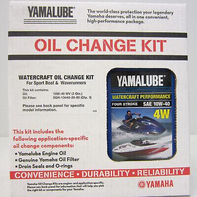 Yamaha Boat/PWC WaveRunner New OEM Oil Change,Filter Service Kit