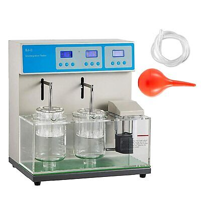 Double Cups Tablet Disintegration Tester Testing Machine Lab Equipment 110v 600w