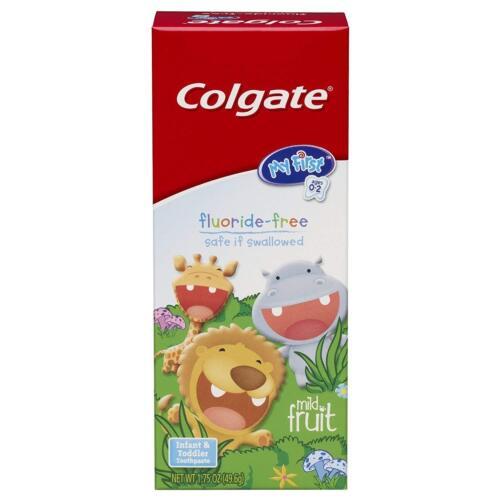 2 Packung Colgate My First Baby Kleinkinder Zahnpasta, ohne Fluorid, 52ml Jedes