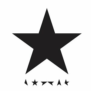 DAVID BOWIE BLACKSTAR CD ALBUM (Released January 8th 2016)