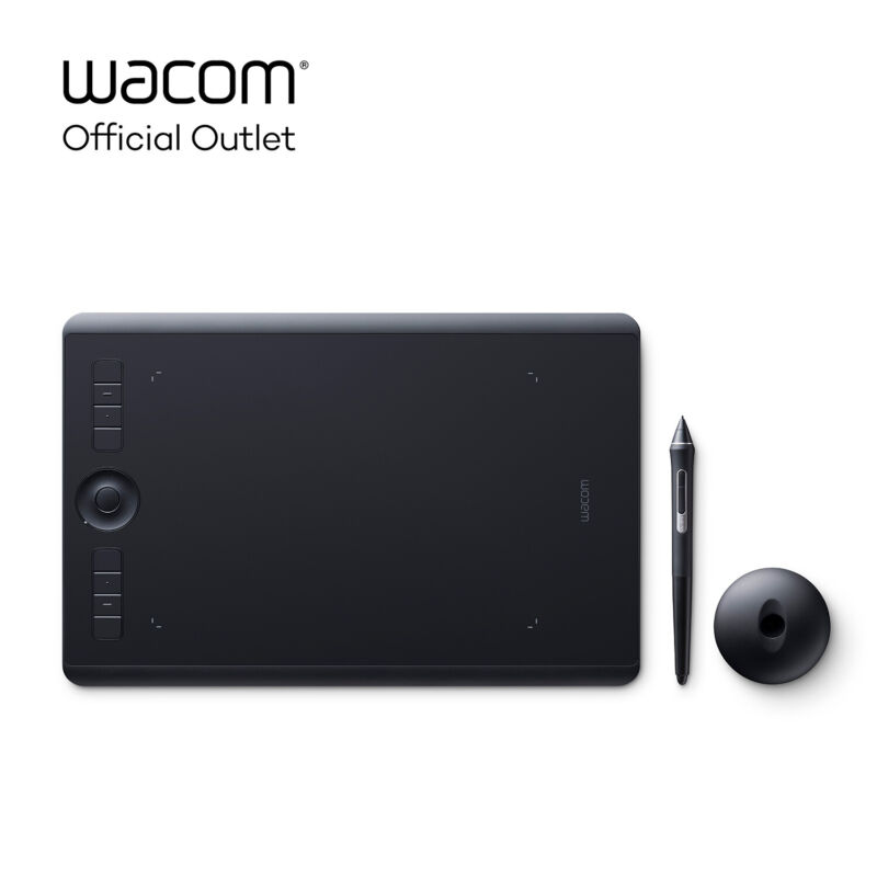 Certified Refurbished Wacom Intuos Pro Medium Digital Graphic Drawing Tablet