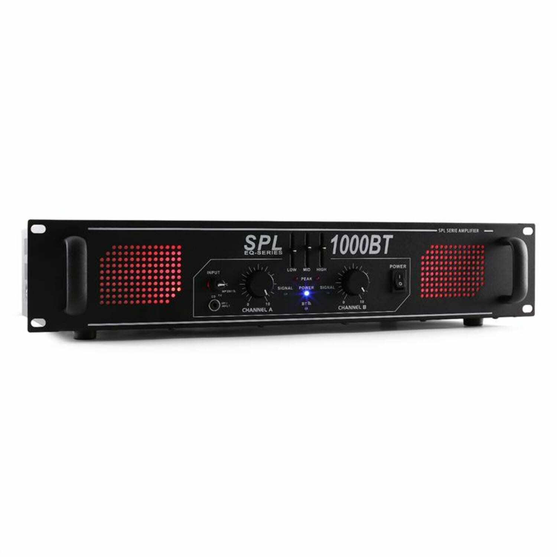 PA Verstärker HiFi Home Cinema DJ Veranstaltung Bluetooth Endstufe AUX 1000 Watt