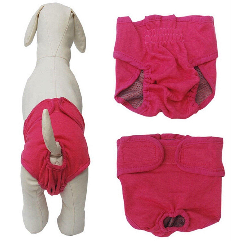 Female Dog Diaper Pink Medium New Comfort Reusable Pet Potty