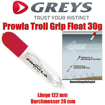 Greys Prowla Troll Grip Float 30g Raubfisch Schlepp Pose Angeln Schlepp Pose