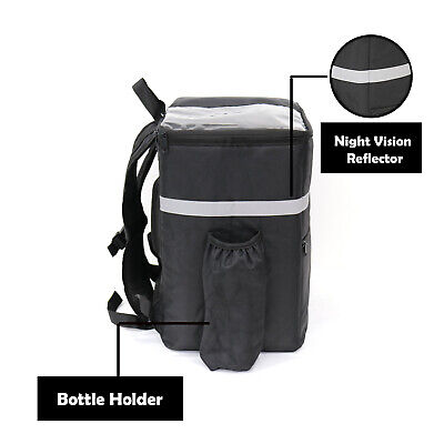 Thebiker Food Delivery Backpack Reusable Thermal Bag Delivery Bag Hot And Col...