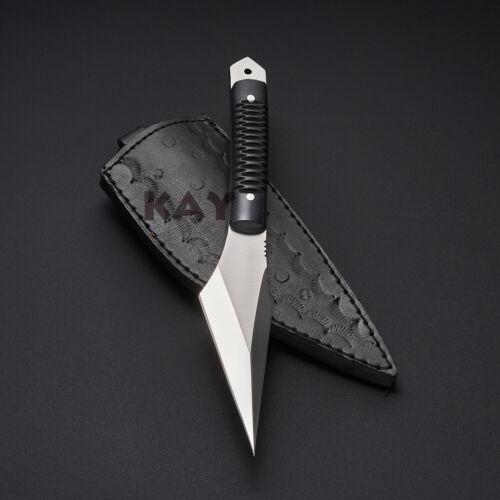 "9.4"" BEST Custom made D2 Tool Steel Fixed Blade kiridashi Knife"