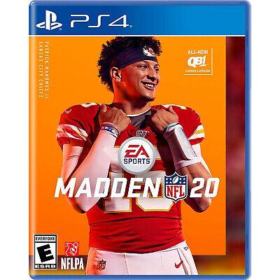 Madden NFL 20 PS4 [Factory Refurbished]