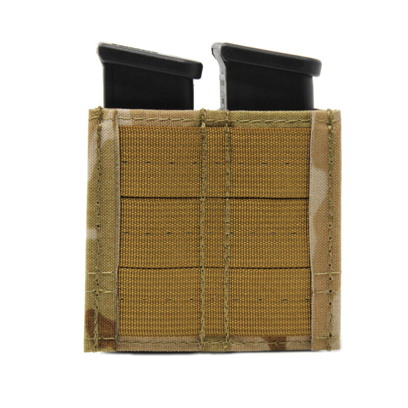 Multicam Arid Made in USA Esstac KYWI Double Pistol GAP Magazine Pouch
