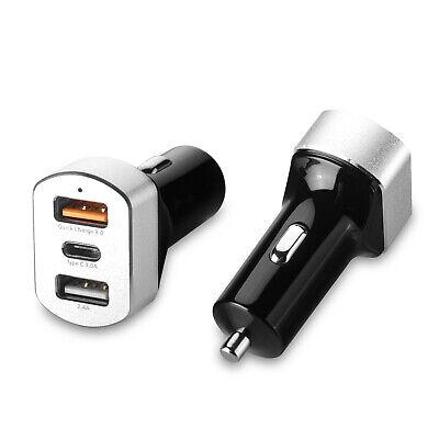 USB KFZ Lade Adapter 12/24V für Samsung Galaxy M22 schnell Lader Typ-C Ladegerät