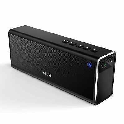 20W 4000mAh Drahtlos Tragbar Bluetooth Lautsprecher MP3 Soundbox USB TF AUX FM (20 Soundbar)